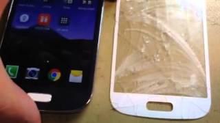Результат замены стекла на Samsung Galaxy s4 mini(, 2014-11-21T21:38:19.000Z)