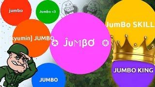JUMBO ARMY DOMINATING AGARIO  | Agar.io