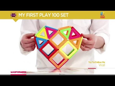 2016 NEW_MAGFORMERS MY FIRST PLAY 100 SET