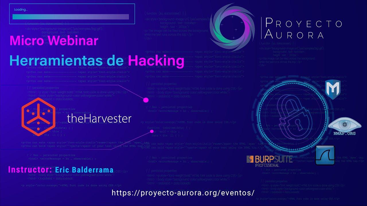 "Herramientas de Hacking: ""TheHarvester"""