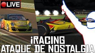 iRacing || Ataque de nostalgia (Ruf GT3 Challenge + Indycar) || LIVE