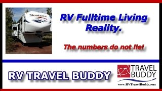 Rv Fulltime Living Reality Part 1 The Numbers Do Not Lie Rv Travel Buddy Rv Fulltime