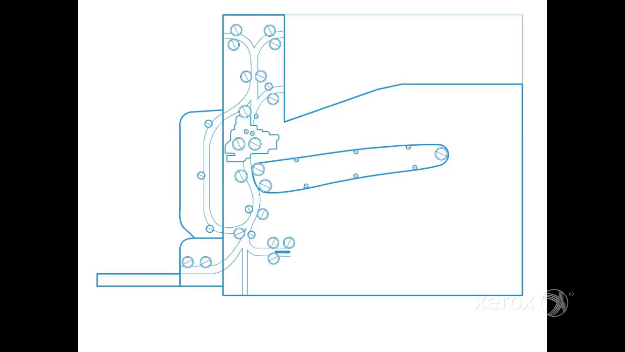 Xerox® VersaLink® B7025 30 35 MFP Paper Path Animation