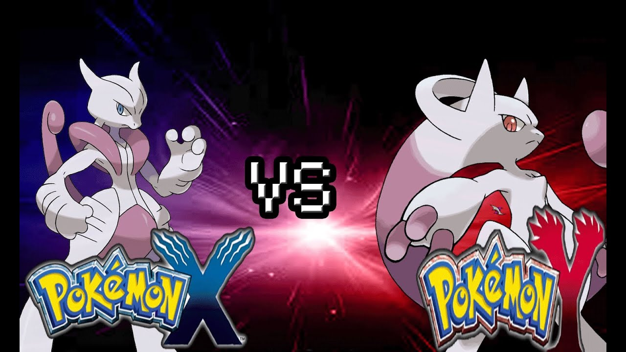 Pokemon xy mega evolution showdown mewtwo y vs mewtwo x - Pokemon mega evolution y ...