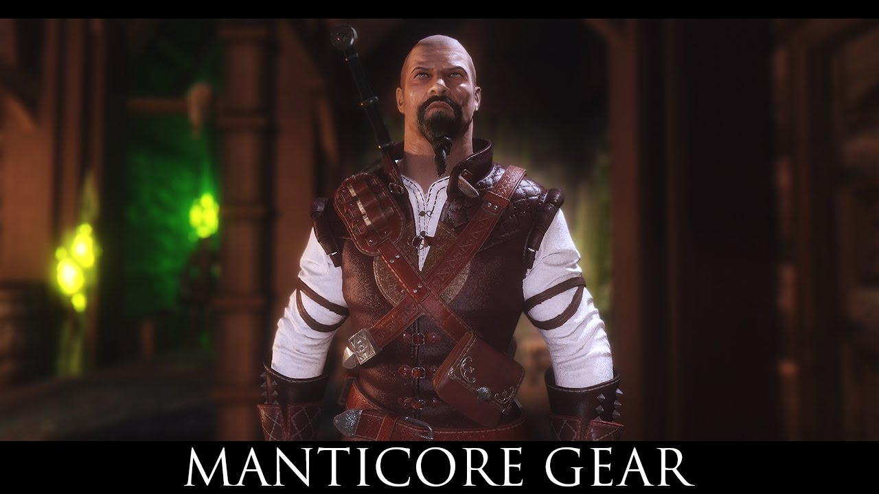 Manticore Gear - The Witcher 3 at Skyrim Nexus - mods and community