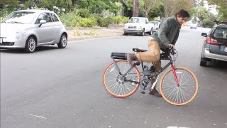 66cc Motorized Bike Build // Test Run