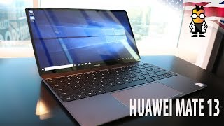 Huawei MateBook 13 Hands On - Portable Notebook with GeForce MX150