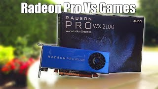 "Can This Budget ""Radeon Pro"" Workstation Graphics Card Play Games?"