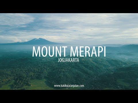MOUNT MERAPI IN CINEMATIC AERIAL