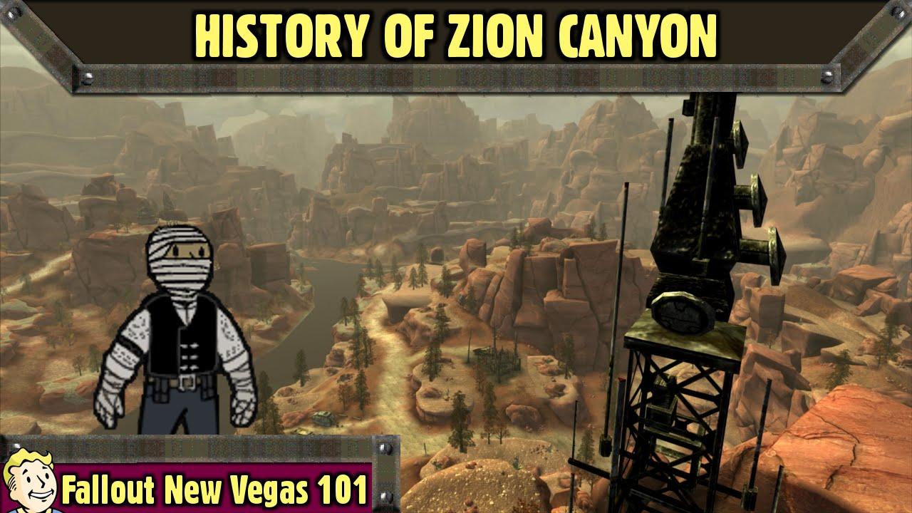 Fallout New Vegas 101 History Of Zion Canyon Youtube