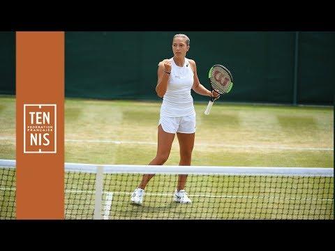 Wimbledon 2019 juniors : Parry dans le grand huit | FFT