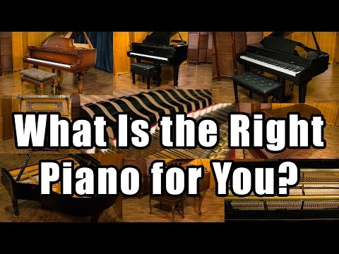 What is the Right Piano for Me? Finding the Best Piano for You