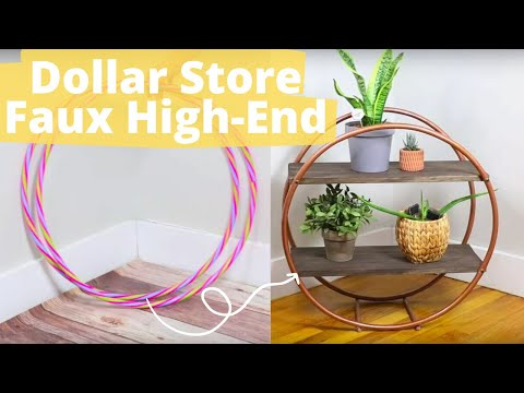 8 clever ways to fake high-end looks with Dollar Store finds! | Hometalk