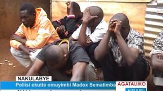 Poliisi ekutte omuyimbi Madoxx Ssematimba