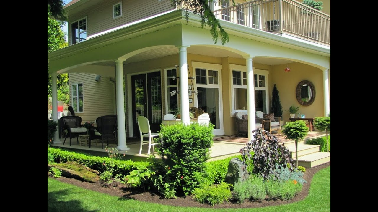 front porch ideas to add more aesthetic appeal to your home youtube - Front Patio Design Ideas