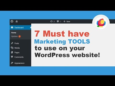 7 MUST HAVE Marketing Tools To Use On Your WordPress Site