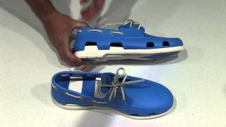 crocs Men's Beach Line Boat Shoe Unboxing(Crocs Boat Shoe Order & Info - http://goo.gl/YjzF5L These boat shoes are a must for anyone with a boat! They are very comfortable and also look like a regular ..., 2014-10-12T00:56:19.000Z)