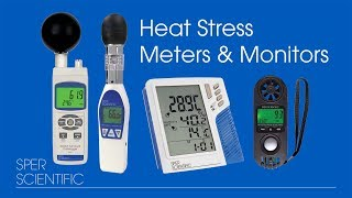 Heat Stress Meters & Monitors
