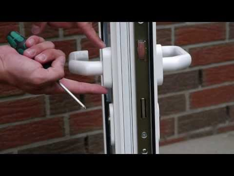 montage instructie rond rozet deurkruk doovi. Black Bedroom Furniture Sets. Home Design Ideas
