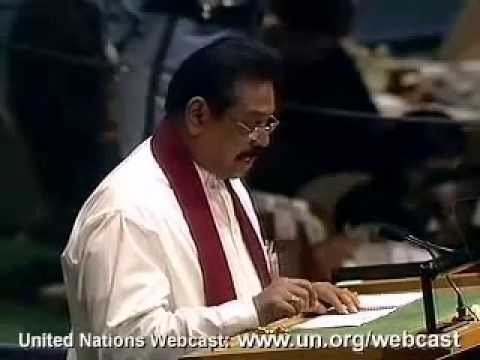 President Rajapaksa's address to UNGA 61st session