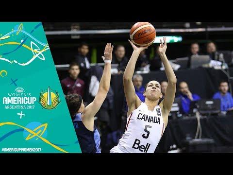 Argentina v Canada - Full Game - Final - FIBA Women