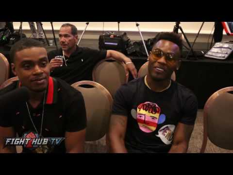 Errol Spence & Jermell charlo react to Ward stopping Kovalev