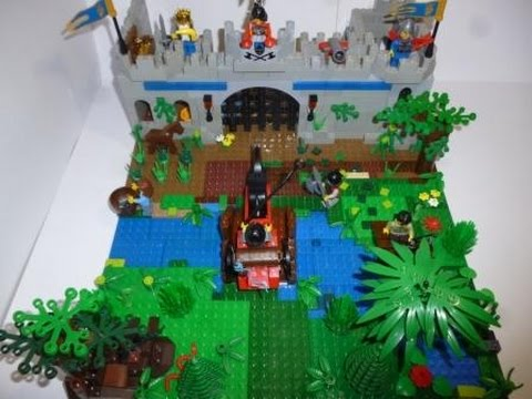LEGO (самоделка#37) средневековье!!!!!!Самая большая самоделка)))