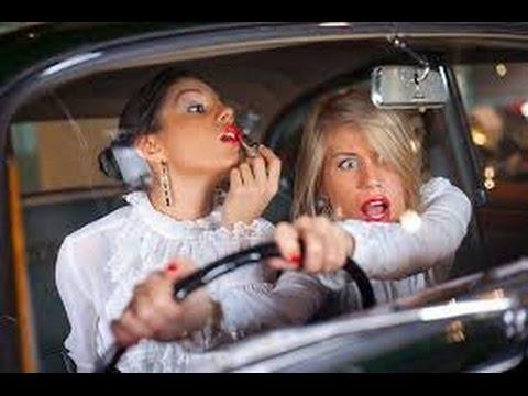 2017 приколы с бухими девушками за рулем