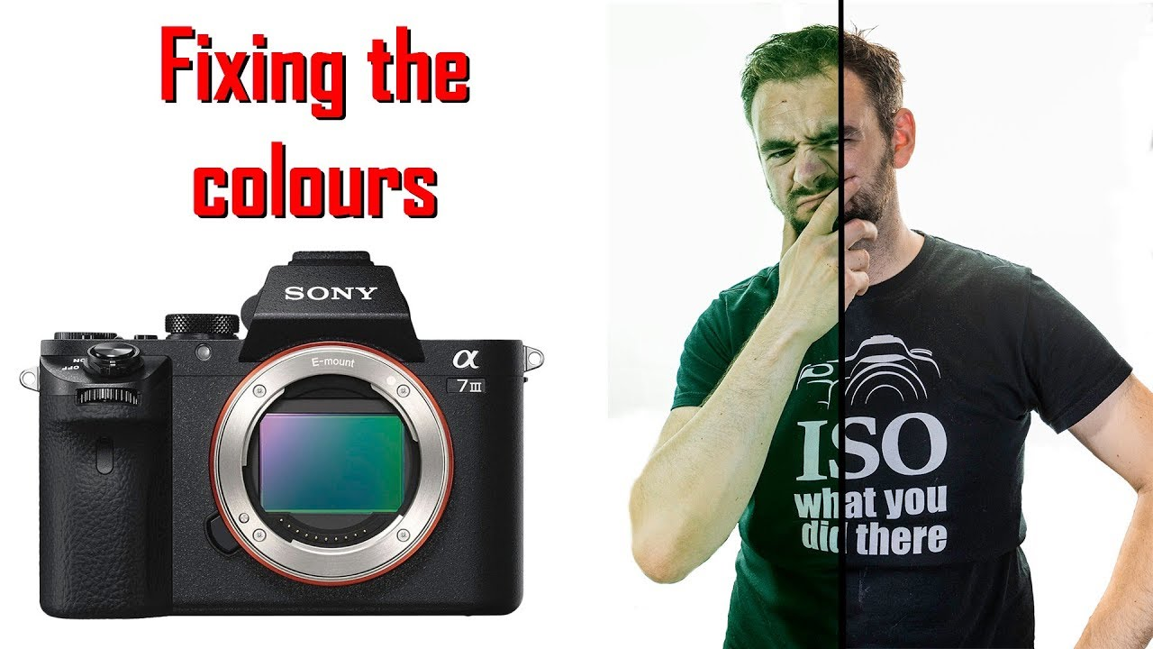 Fixing the colour settings on the Sony A7III