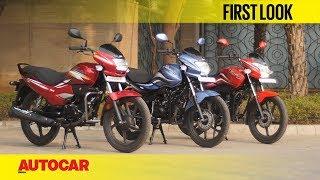 Hero Super Splendor, Passion Pro & Passion XPro | First Look | Autocar India
