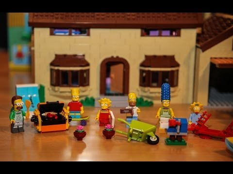 Test LEGO The Simpsons House (Set 71006 LEGO Simpsons)