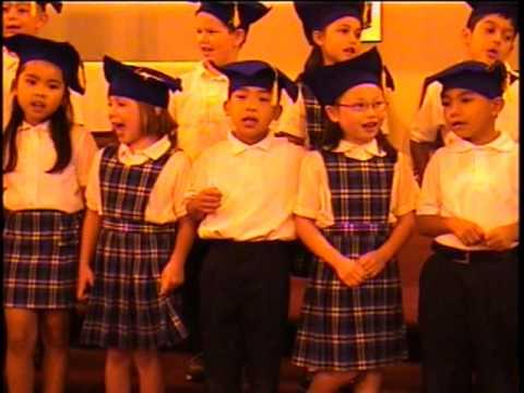 Saint Clement School - Kindergarten Class of 2003 Graduation