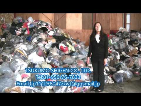 Unsorted Used Clothes from JAPAN