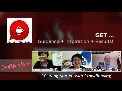 Creative Chat Cafe - Getting Started with Crowdfunding