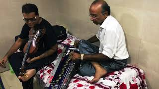 Awesome Banjo and Voilin session with ( Ustad Yusuf Darbar ) & ( Ustad M Rashid khan shahab )mumbai