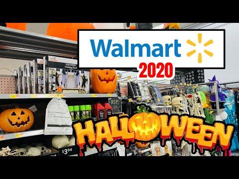 WALMART HALLOWEEN 2020 SHOP WITH ME