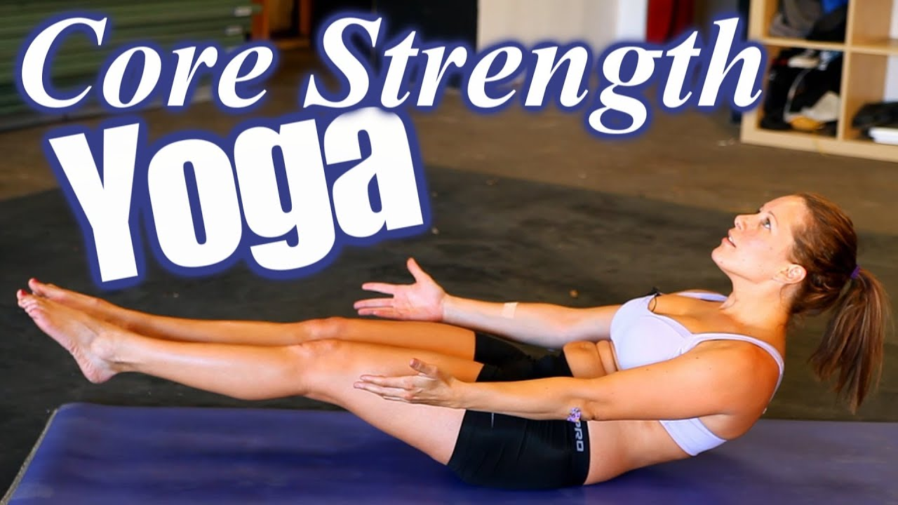 Yoga Workout for Core Strength, Abs & Weight Loss, Home ...