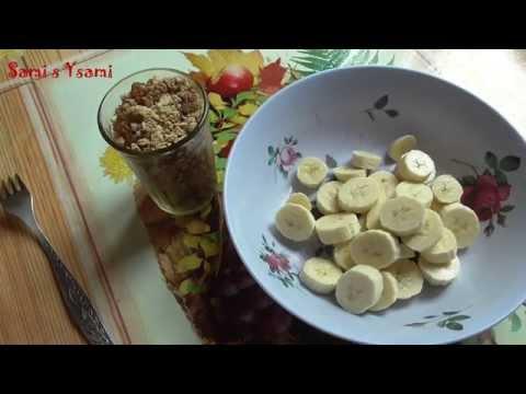 Овсяное печенье с шоколадом и черносливом. Ингредиенты