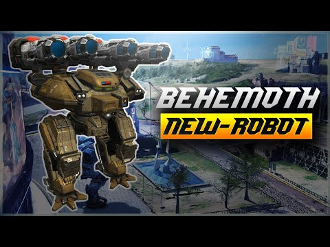 WR 🔥 New Robot BEHEMOTH With 4 HEAVY Weapons - Test Server  War Robots