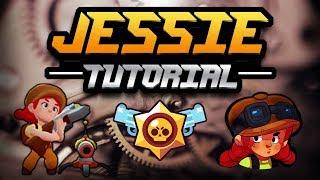 How To Play Jessie | Jessie Guide u0026 Tips Brawl Stars