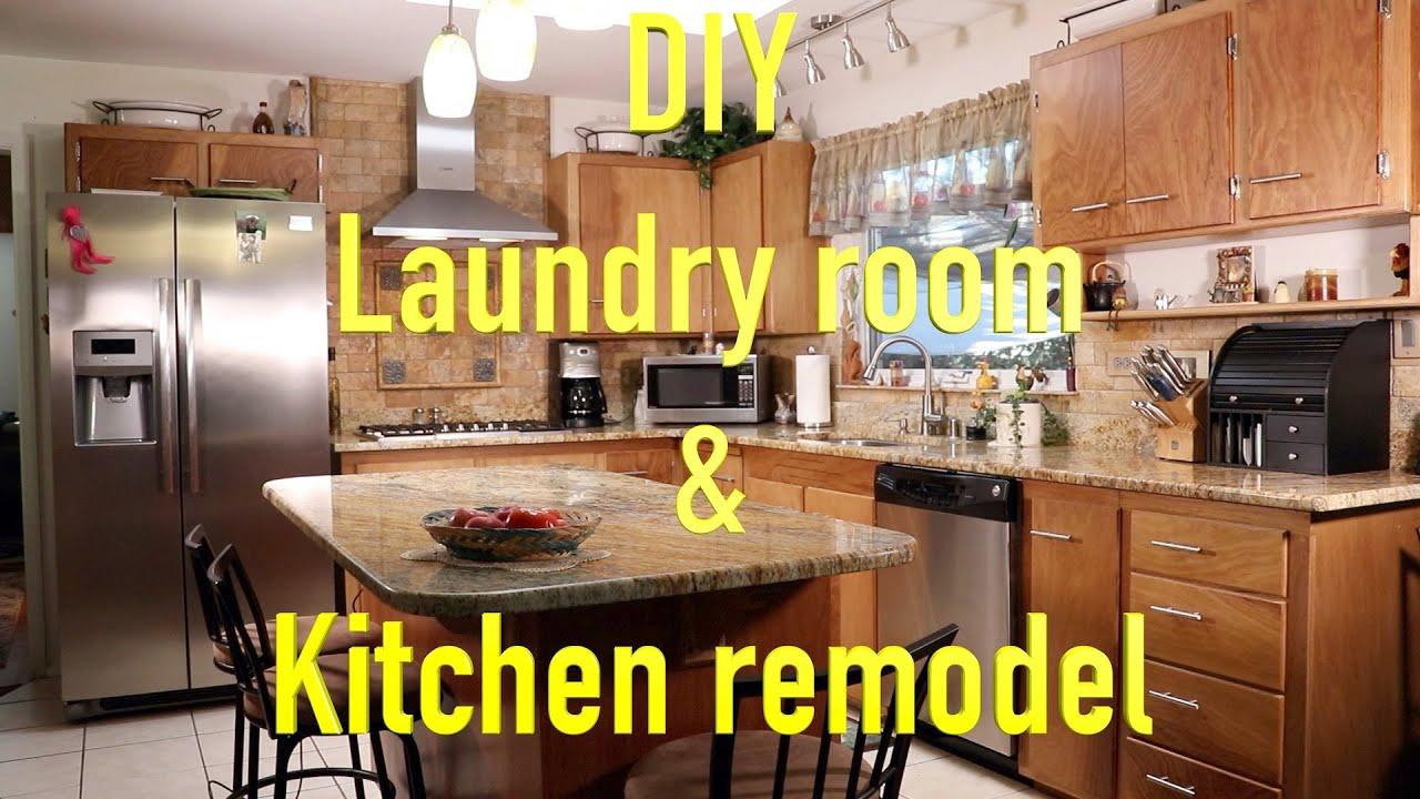 Diy Laundry Room Kitchen Remodel