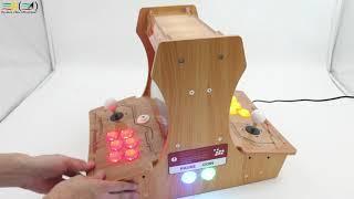 Pandora box 6 Wooden Double fighting machine User self-installation DIY mini bartop arcade