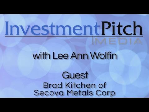 Lee Ann Wolfin interviews Brad Kitchen, CEO of Secova Metals (TSXV: SEK) January 2017