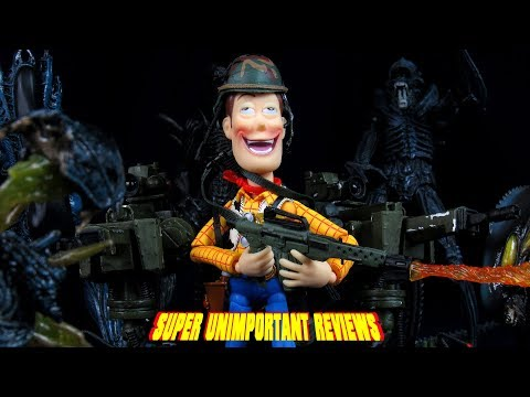 NECA Aliens USCM Arsenal Accessory Set Figure Review And Gemr Givaway (Closed)