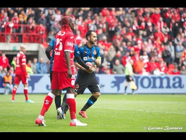 2012-2013 - Standard - Club Brugge - GOAL Victor Vazquez