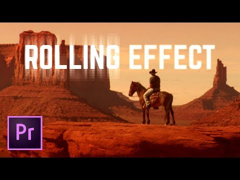 3 Rolling Frame Video Transitions Premiere Pro Tutorial