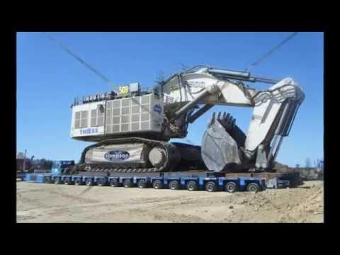 Oversize load Huge transports new compilation
