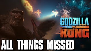 All Things Missed In The GODZILLA VS KONG Trailer 1