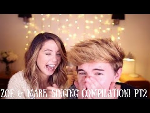 Zoe & Mark Singing Compilation! Pt 2
