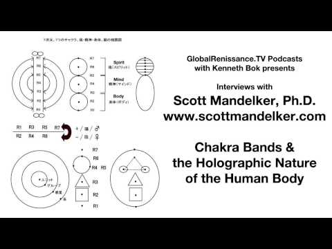 Interview with Scott Mandelker, Ph.D. on Chakra Bands and the Holographic Nature of the Human Body